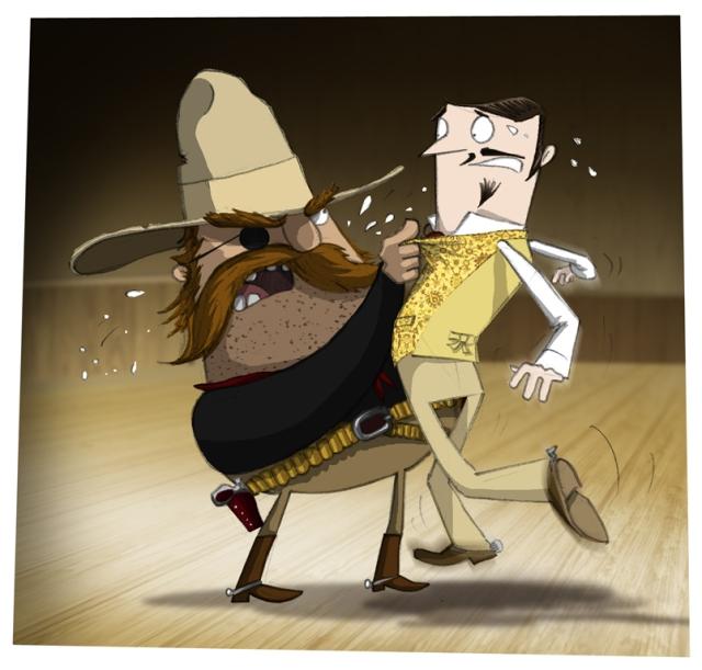 An Unequal Confrontation