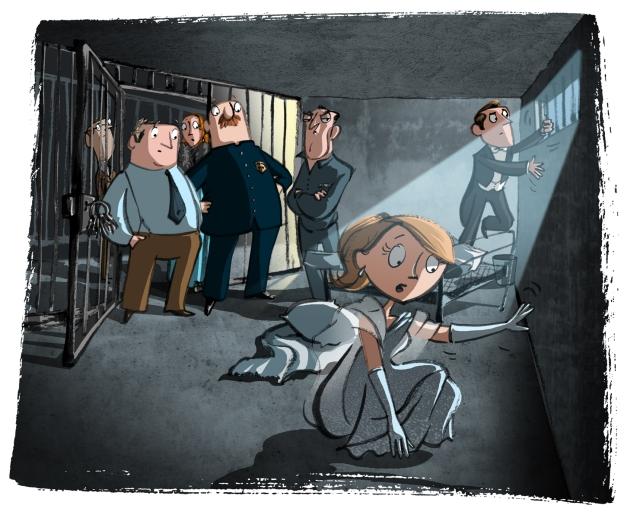 In Egan's cell