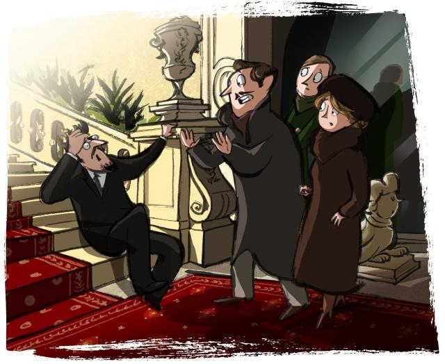 despair at the palace
